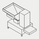 Автоматические дозаторы, дозаторы сыпучих материалов, кантователь, смеситель, укладчик, формовщик