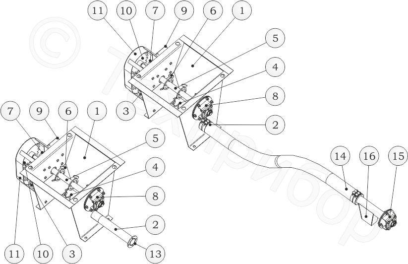 Питатели малой производительности (рецептурные микродозаторы) моделей «поток 3-16 гш» и «поток 3-16»