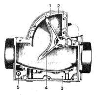 Расходомер воздуха, датчик массового расхода воздуха