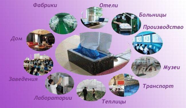 Сферы применения - bahistore
