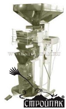 Дозатор д-03 серия 138-50 (ковшовый) для фасовки сыпучих продуктов - стройпак