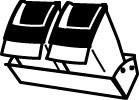 Полка с контейнерами под сыпучие продукты hailo deposito 3950-30 - выдвижные системы - аксессуары для кухни