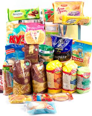 Упаковка продуктов пищевых, упаковка пакеты и пленки.