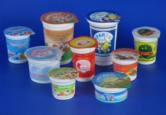 Упаковка для молока, молочная упаковка, пластиковый стаканчик для йогурта от производителя