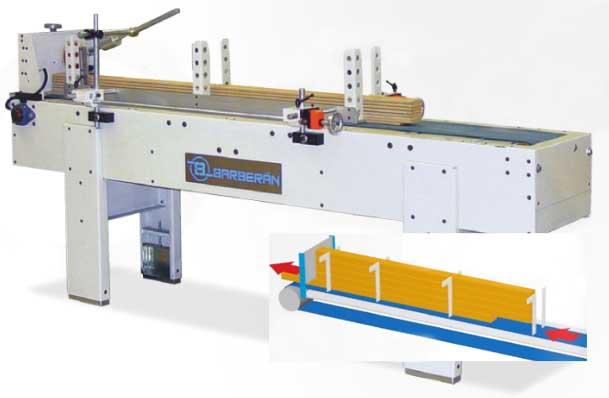 Tecnoport - станки barberan для подачи погонажных изделий