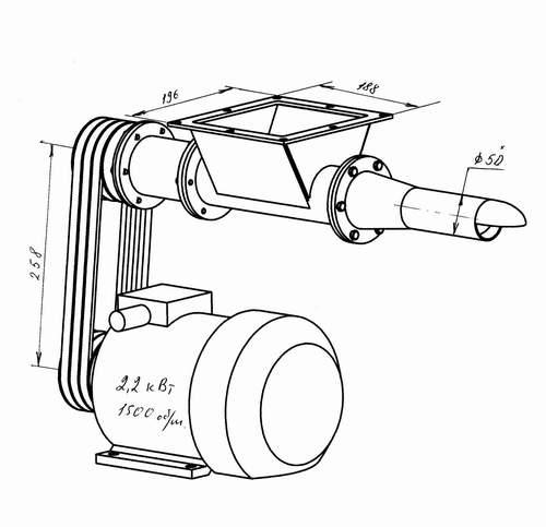 Дозатор в клапанные мешки - комплектные дозаторы - каталог продукции : ооо росат