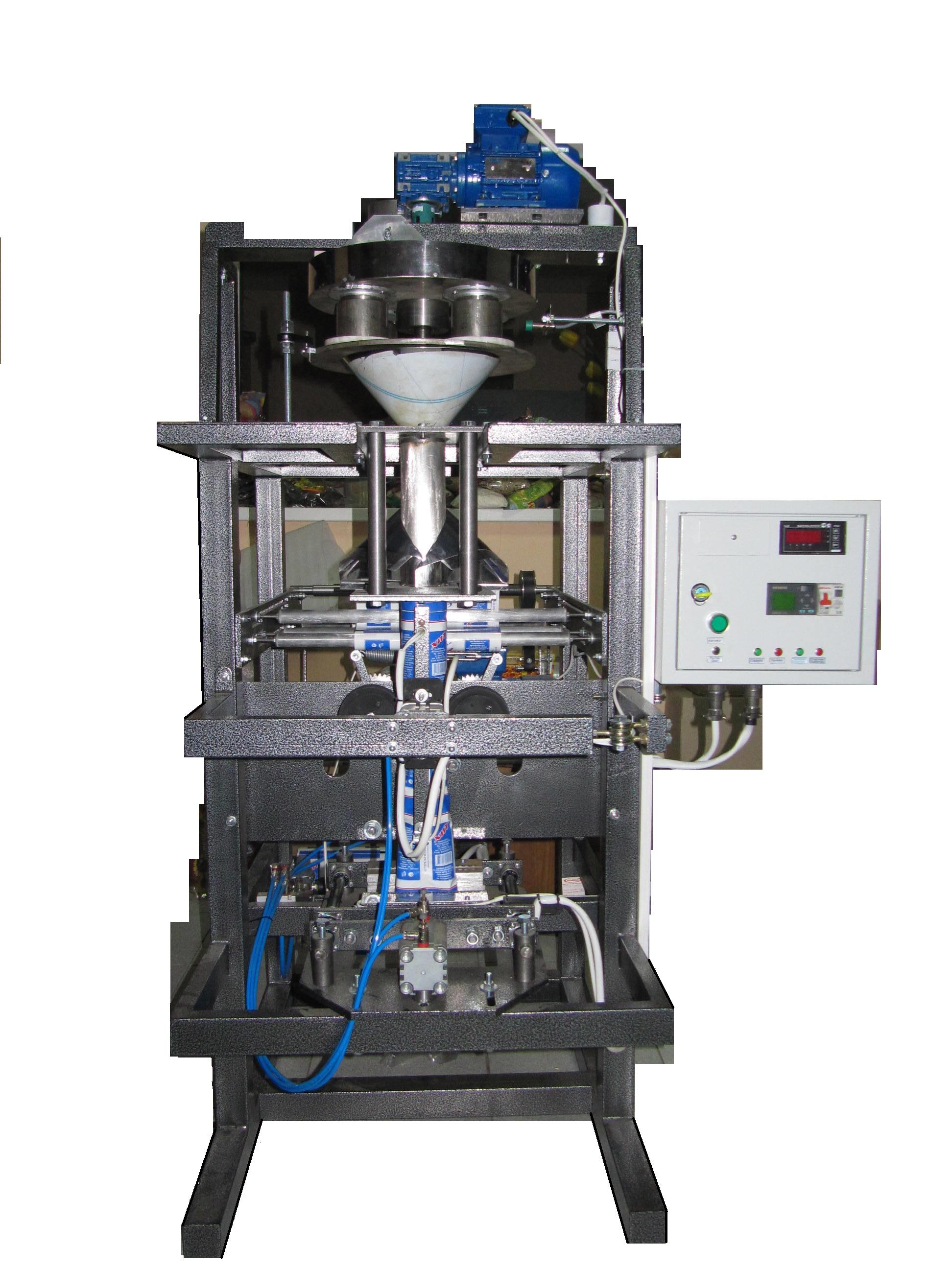 Автоматы с объёмным или объёмно-роторным дозатором для фасовки